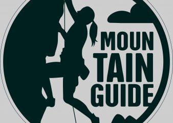 Mountain Good Guide buy t shirt design