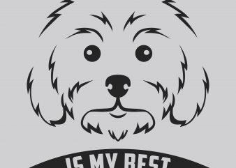 My Dog My Best Friend buy t shirt design