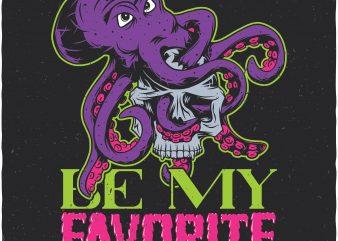Be my favorite. Vector T-Shirt Design buy t shirt design