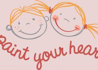Paint Your Heart Kids Design