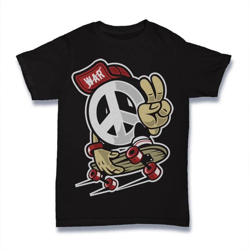 Peace Graphic t-shirt design buy t shirt design