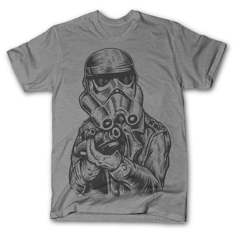 Punktrooper Vector t-shirt design buy t shirt design