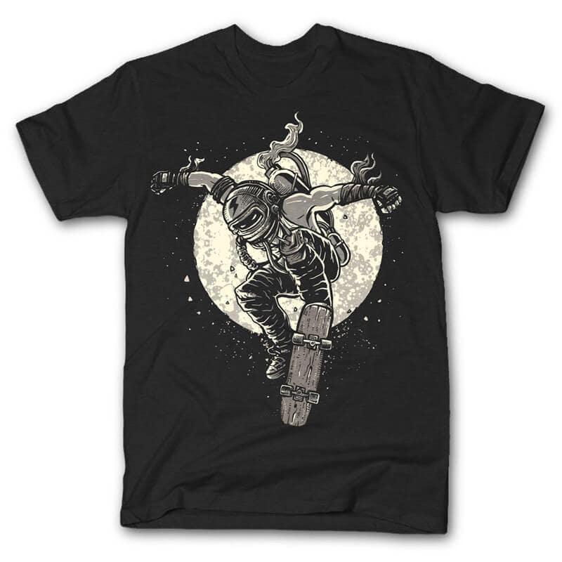 Rebel Skater Vector t-shirt design buy t shirt design