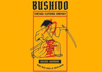 Samurai 2 Graphic t-shirt design