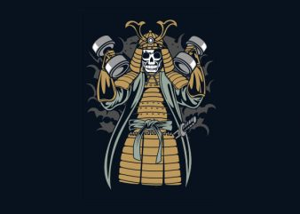 Samurai Gym tshirt design buy t shirt design