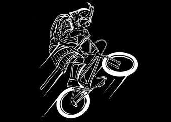 Samurai Rider Vector t-shirt design buy t shirt design