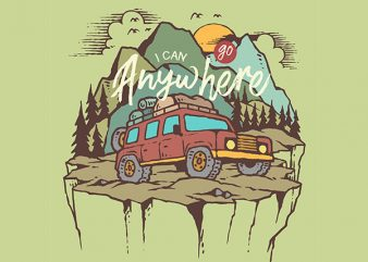 adventure Graphic t-shirt design
