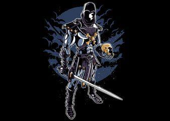Skeleton King Vector t-shirt design