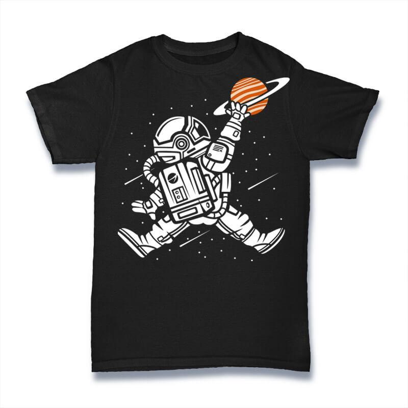 Space Jump Graphic t-shirt design buy t shirt design