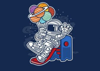 Space Slider Graphic t-shirt design buy t shirt design