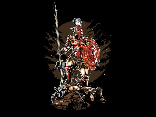 Sparta Graphic t-shirt design buy t shirt design