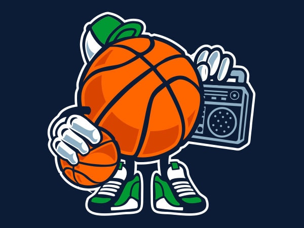 Street Basketball Graphic t-shirt design buy t shirt design