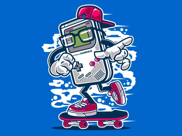 Street Gamers Graphic t-shirt design buy t shirt design