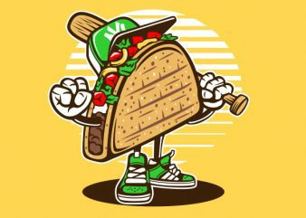 Taco Graphic t-shirt design buy t shirt design