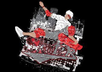 Skater Vector t-shirt design buy t shirt design