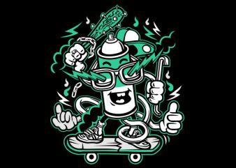 Vandalism Vector t-shirt design buy t shirt design