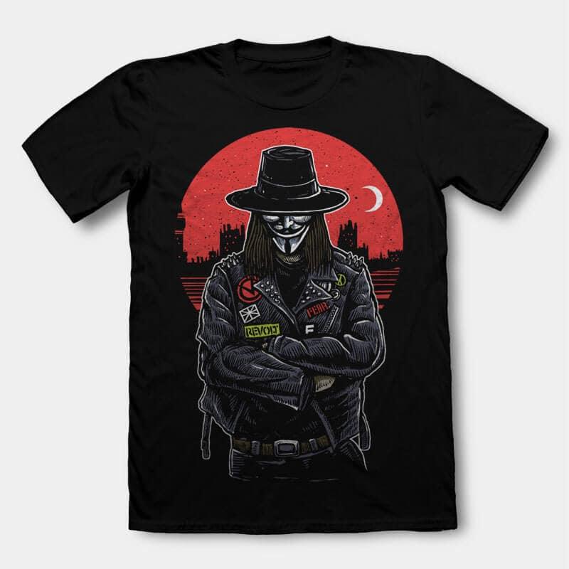 vendetta Vector t-shirt design buy t shirt design