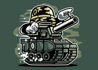 War Tank Vector t-shirt design buy t shirt design