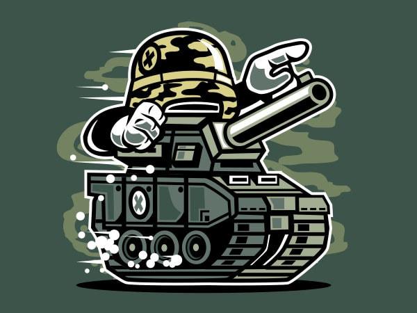 War Tank Vector t-shirt design buy t shirt design