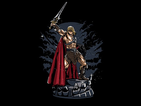 Warrior Vector t-shirt design buy t shirt design