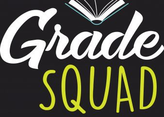 Grade Squad t shirt design template