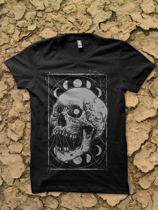dark skull tshirt design buy t shirt design