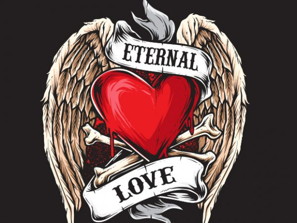 Eternal Love buy t shirt design