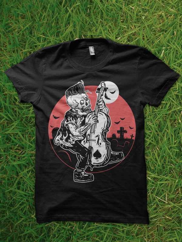 rockabilly tshirt design buy t shirt design