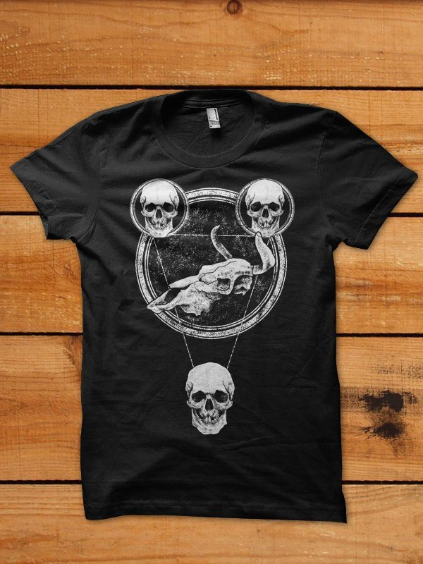 stardust skull tshirt design buy t shirt design