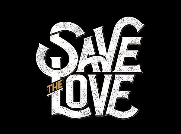 Save the love buy t shirt design