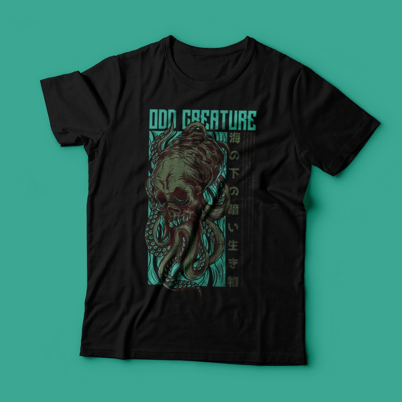 Odd Creature T-Shirt Design buy t shirt design