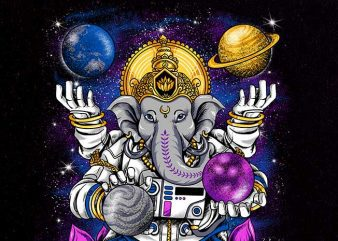 lord ganesha Graphic t-shirt design