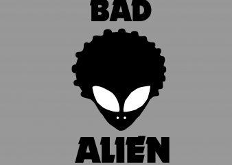 Bad Alien buy t shirt design