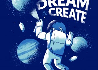 Astronaut Graffiti buy t shirt design