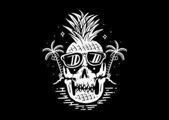Skull Pineapple buy t shirt design