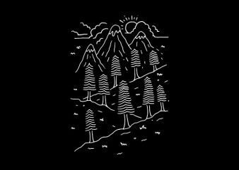 Hiking Trails buy t shirt design