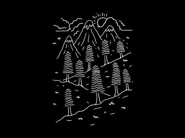 Hiking Trails buy t shirt design