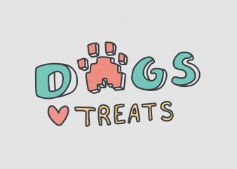 Dogs Treat buy t shirt design