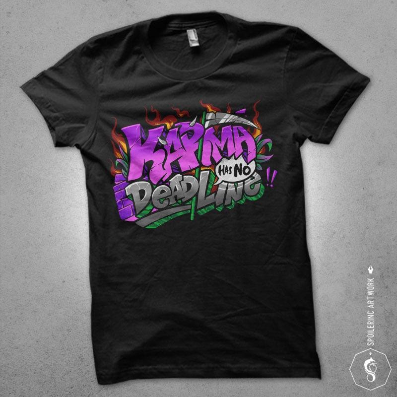 karma shirt design buy t shirt design