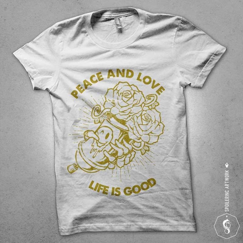little smile Graphic t-shirt design buy t shirt design