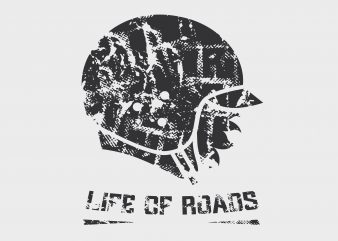 Life Of Roads buy t shirt design
