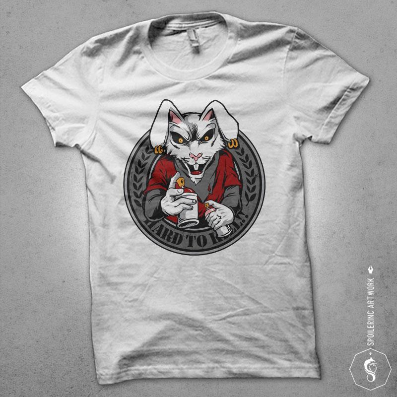 rabbit clan Vector t-shirt design buy t shirt design