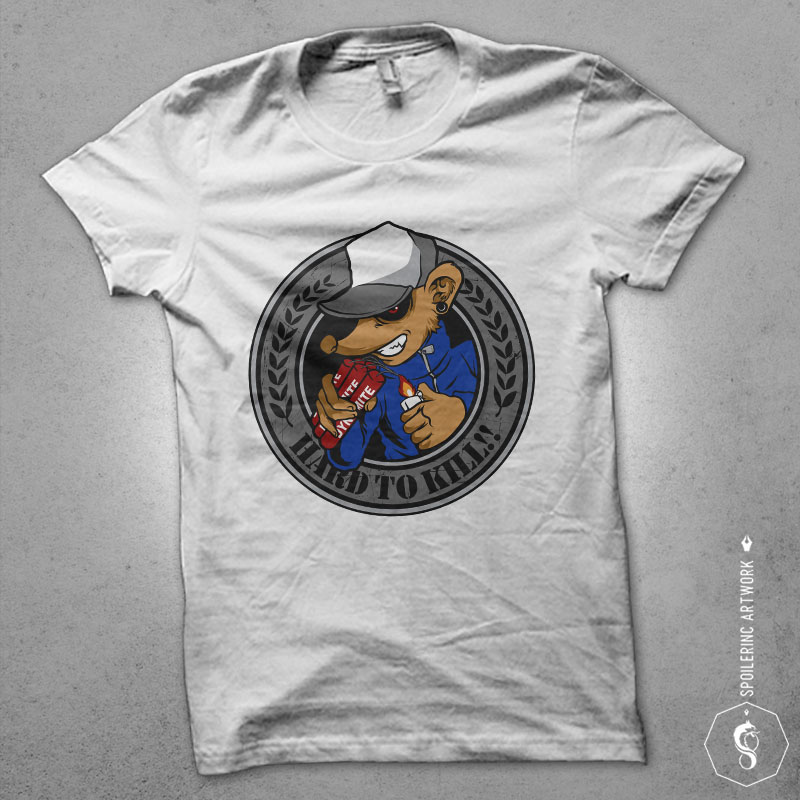 rat clan Vector t-shirt design buy t shirt design