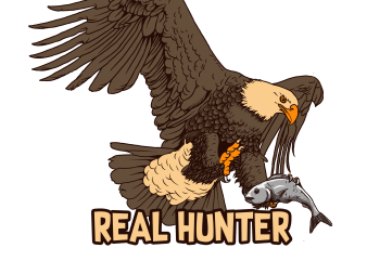 real hunter buy t shirt design