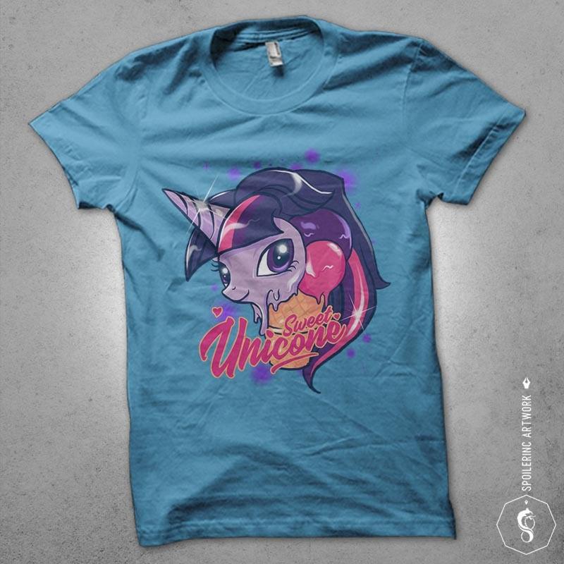 unicone Graphic t-shirt design buy t shirt design