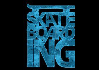 skate typo Vector t-shirt design buy t shirt design