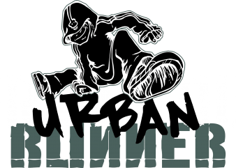Urban Runner t shirt vector graphic