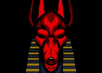 anubis t shirt vector