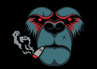 bear smoke buy t shirt design