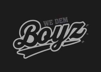 Boyz t shirt template